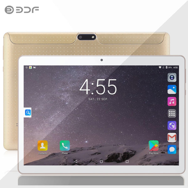 2020 New 10 inch Tablet Pc 3G Phone Duall Call SIM card Android 7.0 Quad Core CE Brand WiFi GPS FM Tablet Google Play 10.1 inch
