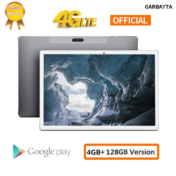 2020 New Tablets PC 10.1 Inch Andriod 8.0 1920*1200 IPS 4G Phone Call  4GB RAM 64GB 128GB ROM Type-C GPS Wifi Support PUBG Game