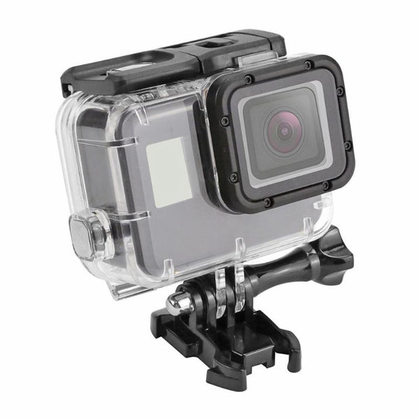 ALLOET 40m Underwater Diving Waterproof Case Protective Housing Cover Shell For GoPro Hero 7 5 6 Black Action Camera Accessories