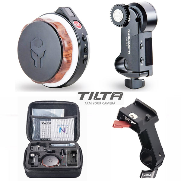 Tilta Nucleus-Nano Wireless Follow Focus Nucleus N Lens Control System with 15mm rod adapter