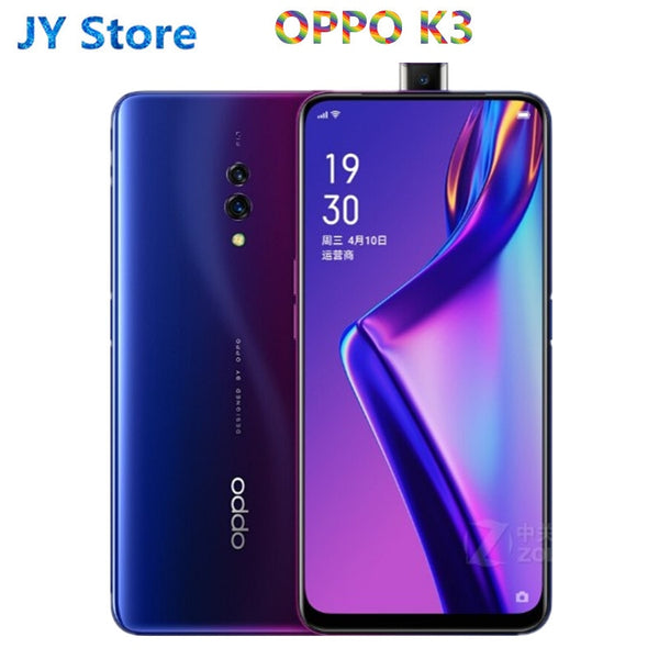 Original Oppo K3 4G LTE Mobile Phone Snapdragon 710 Android 9.0 6.5