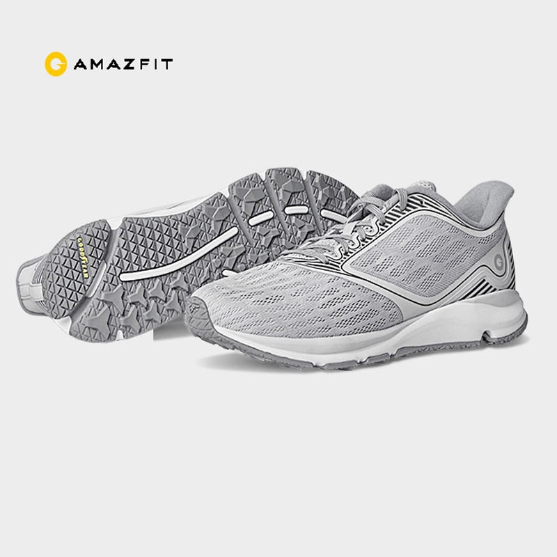 Original Xiaomi Amazfit Antelope Sneakers Rubber Support Smart Chip ( Not Include ) PK Mijia 2 Light Smart Shoes Outdoor Sports