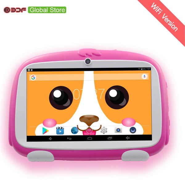 2020 New 7 Inch Android 8.1 Tablet Pc 1GB+16GB Children kids learning Tablet Pc Installed Best gifts for Children Tablet Pc