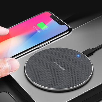 Qi  wireless Charger For iphone 11 Pro X Xs Max XR For Samsung S8 S9 S10 Plus Note 10 9 10w Fast wireless Mobile Phone Charger