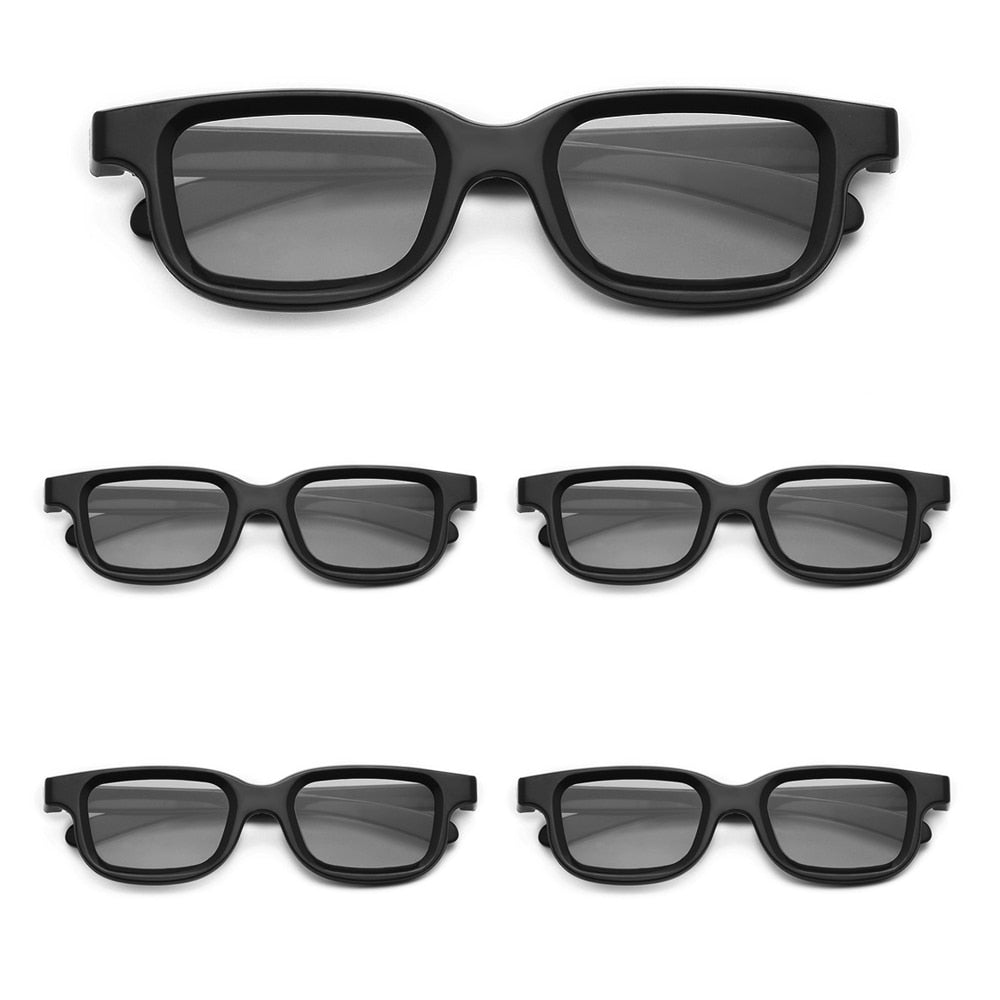 VQ163R Polarized Passive 3D Glasses for 3D TV Real 3D Cinemas for Sony  Environmental-friendly ABS Material Lightweight