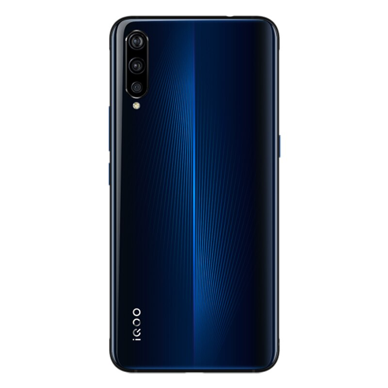 In Stock Original Vivo iQOO Mobile Phone OTA Update Fingerprint ID Snapdragon 855 NFC Type-C 44W Fast Charge Smart phone Android