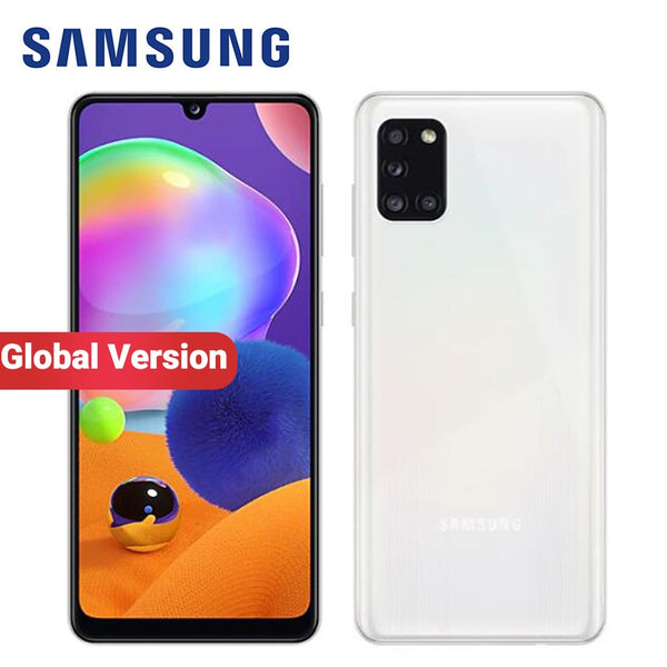 Global Samsung Galaxy A31 Mobile Phone 5000mAh 128GB RAM 6GB ROM A315G/DS 6.4