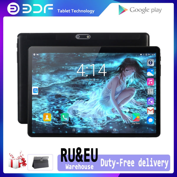 New Original 10 Inch 3G Phone Call Android 7.0 GPS Tablet PC tab WiFi IPS Kids Phablets Dual SIM Card Wifi Bluetooth 1GB+32GB