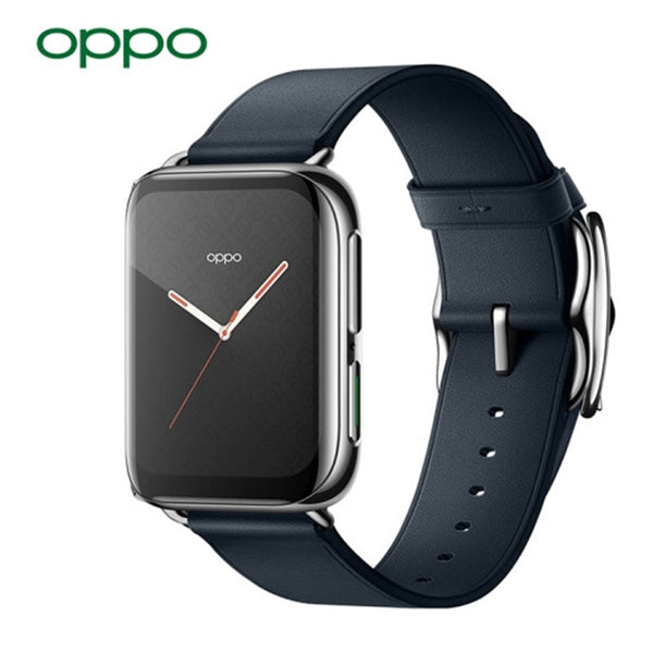 Original Official OPPO Watch 46mm eSIM Snapdragon2500 AMOLED Screen 430mAh Large Battery 1GB 8GB 1.91-inch Aluminum Alloy VOOC