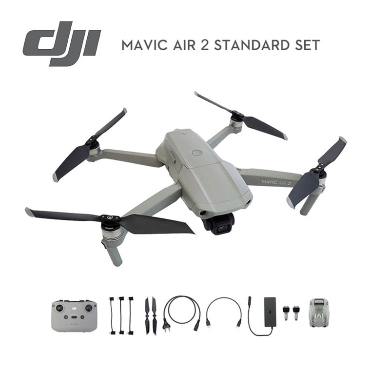DJI Mavic Air 2 drone with 4k camera 34 mins Flight Time 10km 1080p Video Transmission original Newest in stock