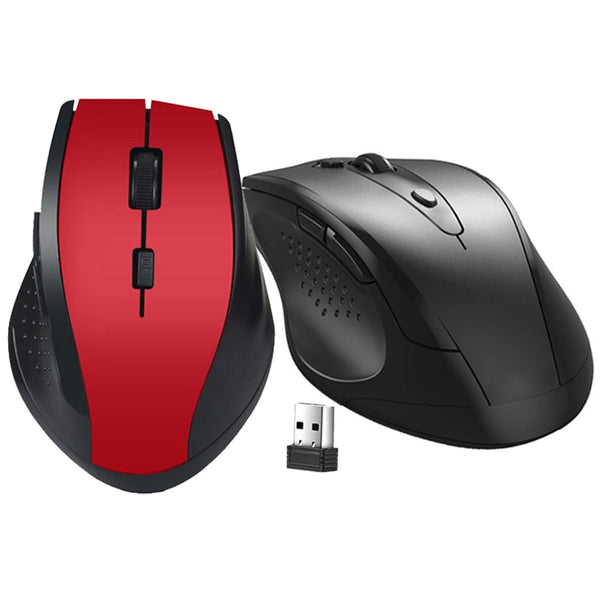 USB Gaming Wireless Mouse Gamer 2.4GHz Mini Receiver 6 Keys Professional Computer Mouse Gamer Mice For Computer PC Laptop