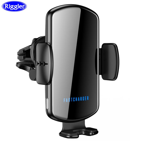 Voice Broadcast Wireless Car phone Charger 15W Fast Charge Car Holder for iphone 11 pro 11XS MAX for Huawei Mate30pro P30 pro