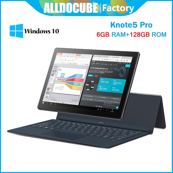ALLDOCUBE Knote 5 Pro 11.6 inch 6GB Ram128GB Rom Windows 10 Intel Gemini Lake N4000 Tablet PC 6GB RAM 128GB ROM FHD1920*1080