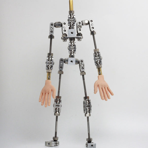 Upgraded Ready-to-assemble PMA-20  20cm high quality stainless steel animation armature puppet for Stop Motion Character