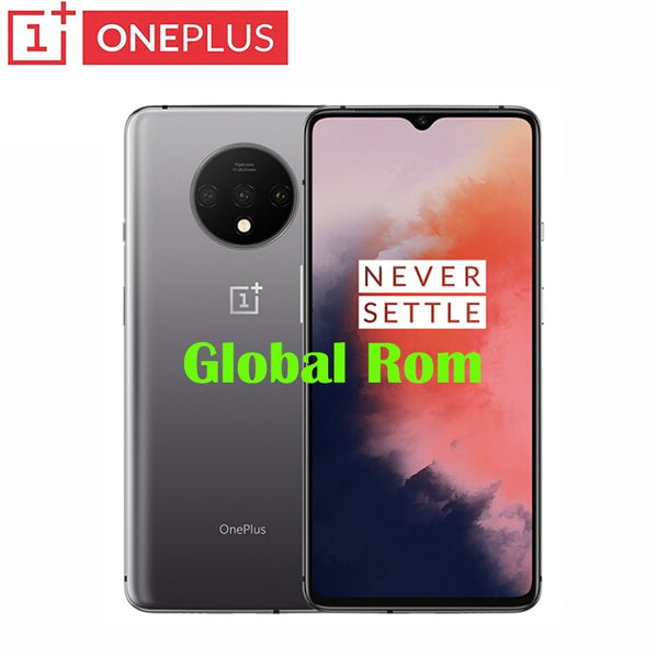Original Official Global Rom OnePlus 7T Smartphone Snapdragon 855 Plus Octa Core 90Hz AMOLED Screen 48MP Triple Cameras NFC