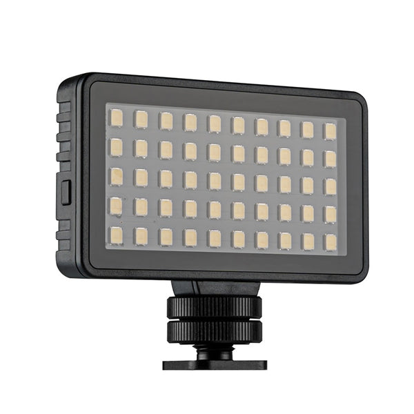 Photography Light Lamp  Waterproof LED Video Light Spot Lamp 50LED 1500LM 5500K-6000k for Gopro Hero 8 Action Camera Accessories