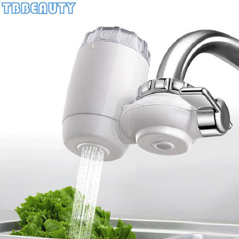 Faucet Water Purifier Kitchen Tap Washable Ceramic Percolator Water Filter Filtro Rust Bacteria Removal Water Cleaner Household