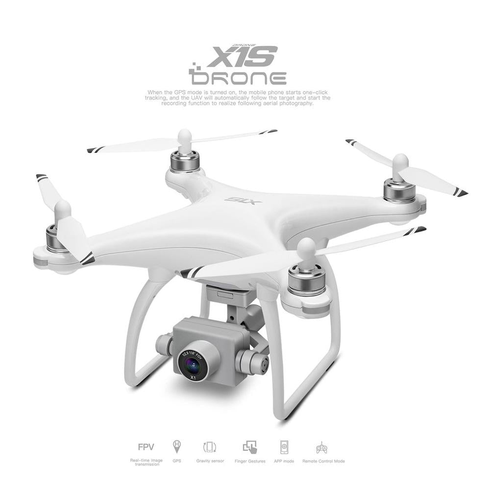 X1S GPS Aerial Brushless RC Drone with 1080P Camera 5G WiFi Remote Control Airplane Toys Children Christmas Birthday Gift