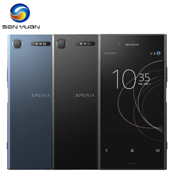 Original Sony Xperia XZ1 G8341 Octa-core 5.2 Inches 4GB RAM 64GB ROM 19MP Camera LTE 4G Single SIM Android Cellphone Fingerprint