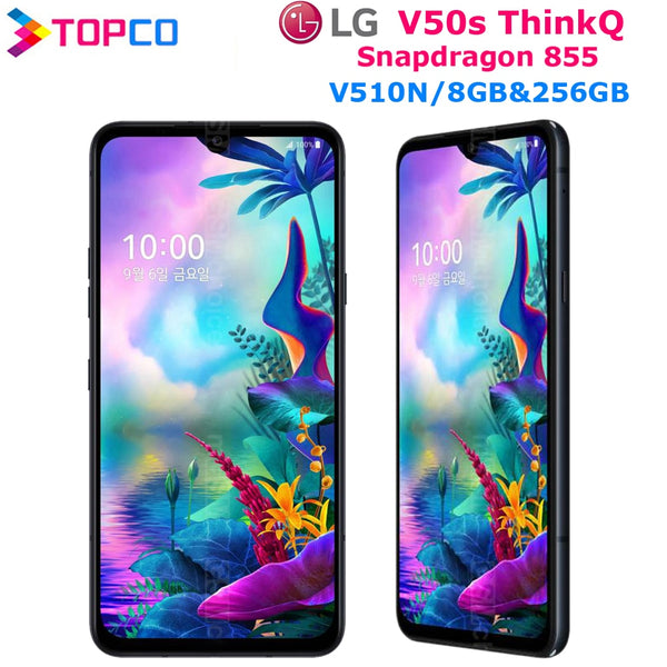 LG V50S ThinQ V510N Original Unlocked LTE NFC Android Phone Snapdragon 855 Octa Core 6.4
