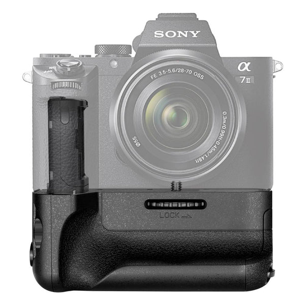 Neewer Vertical Battery Grip(Replacement for Sony VG-C2EM) Works with NP-FW50 Battery for Sony A7 II and A7R II Cameras