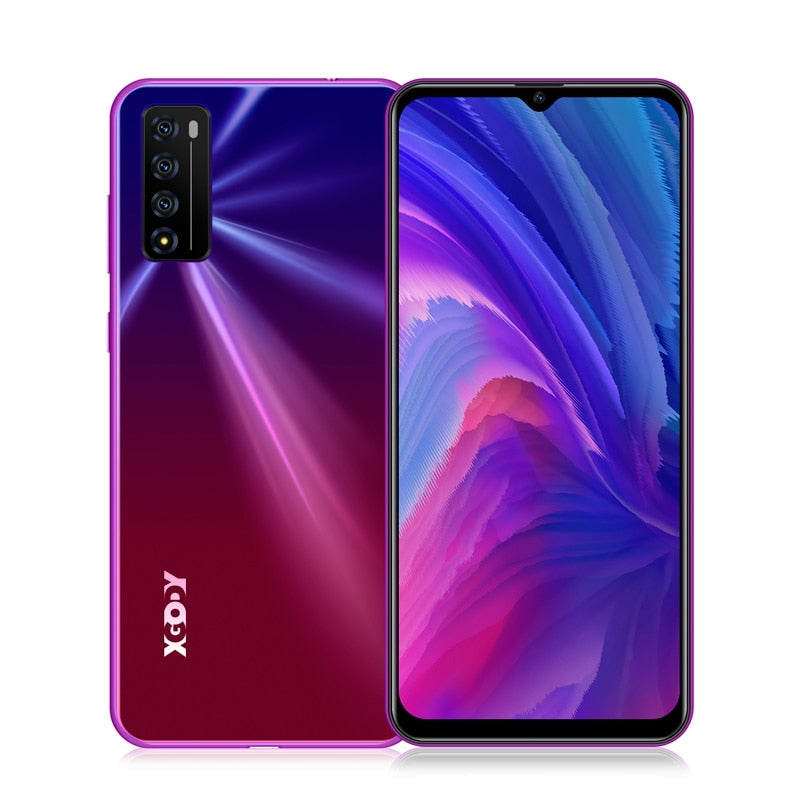 "XGODY A90 Pro Celular Smartphone Android 10 6.6"" 19:9 Waterdrop Screen 2GB 16GB MTK6737 Quad Core 3000mAh 5MP 4G Mobile Phones"
