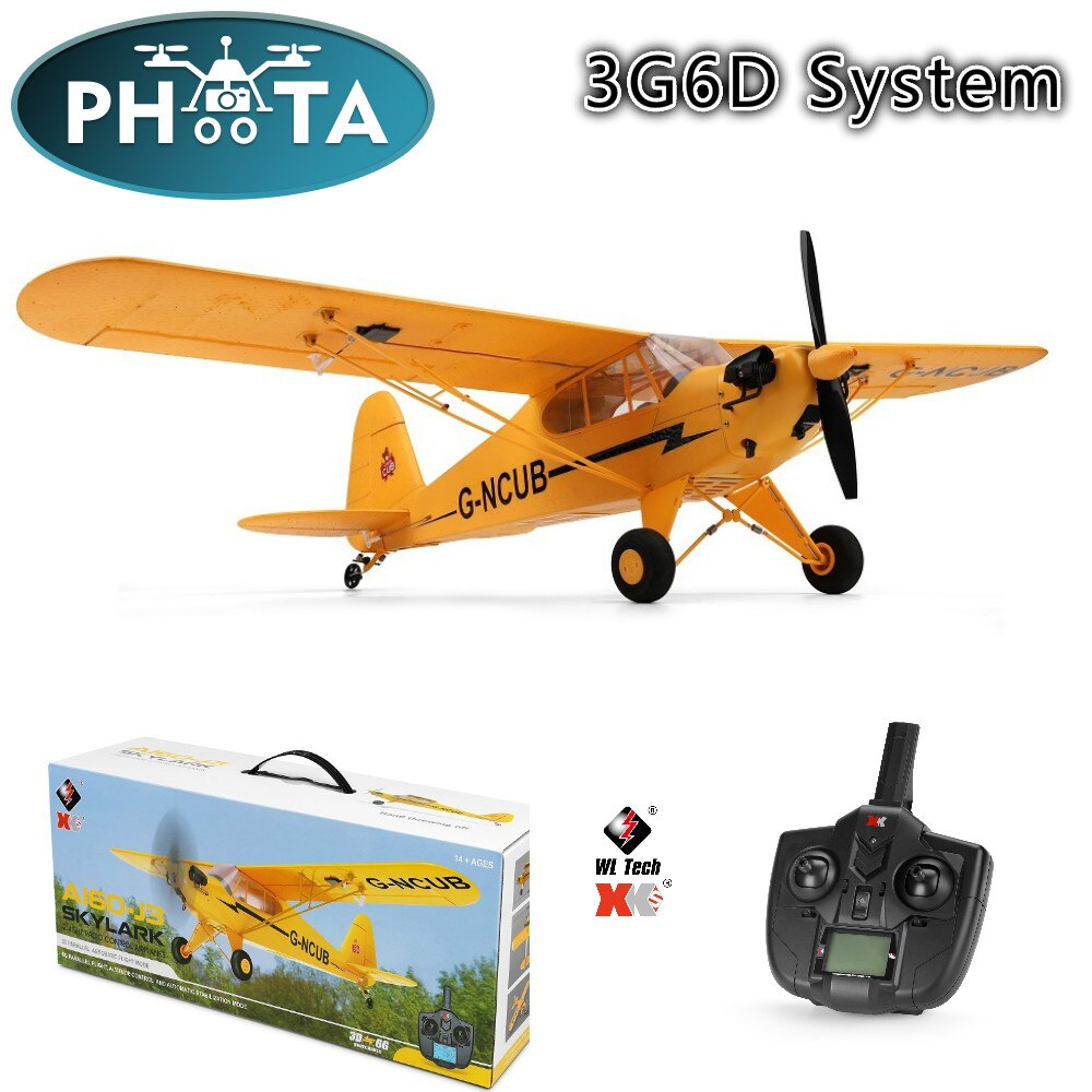 Wltoys XK A160 RC Plane Gilder 2.4G 1406 Brushless Motor 3D6G System 650mm Wingspan RC Glider Aircraft Helicopter toy for boy