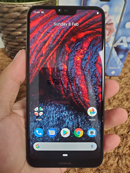 Nokia X6 Android Mobile Phone 5.8 inch 18:9 FHD+ Snapdragon 636 Octa Core 3060mAh 16.0MP+5.0MP Camera Fingerprint ID Smartphone