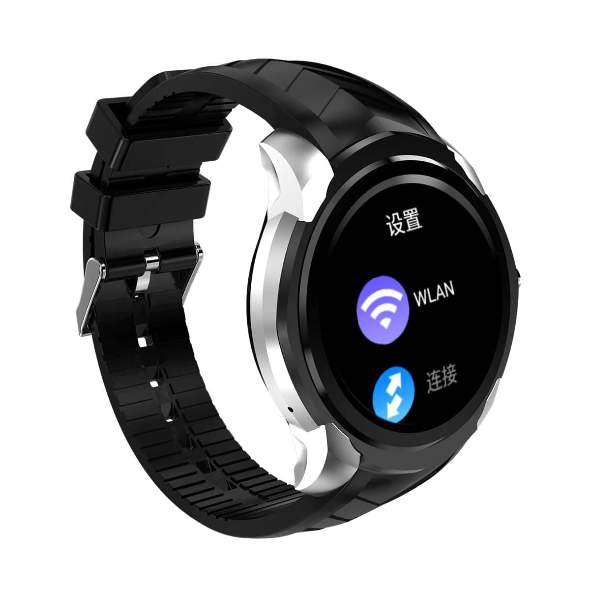 Bakeey C1 1.3inch 512MB 8GB GPS Heart Rate Monitor Pedometer bluetooth Smart Watch For iPhone X 8/8P Mybigfatstore