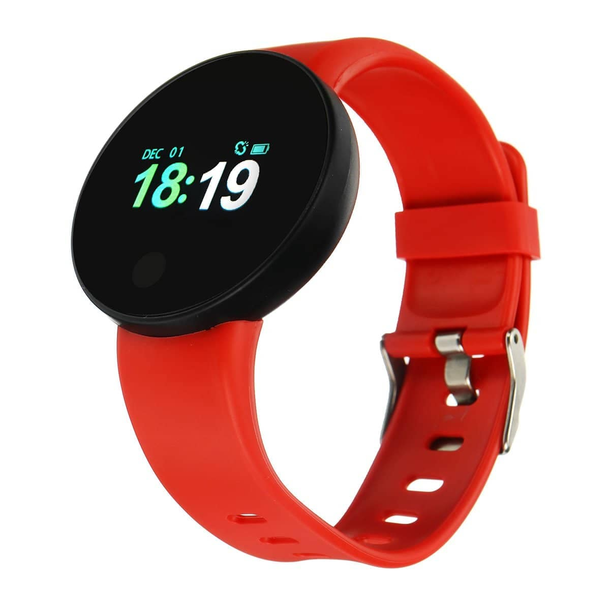 Bakeey Dynamic Heart Rate Blood Pressure Sleep Monitor Fitness Tracker SMS Reminder USB Chargin... Mybigfatstore