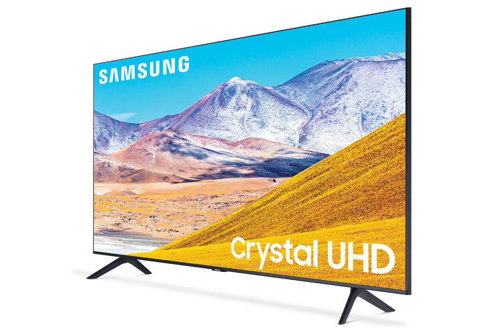 "SAMSUNG 65"" Class 4K Crystal UHD (2160P) LED Smart TV with HDR UN65TU8000 2020 Model"