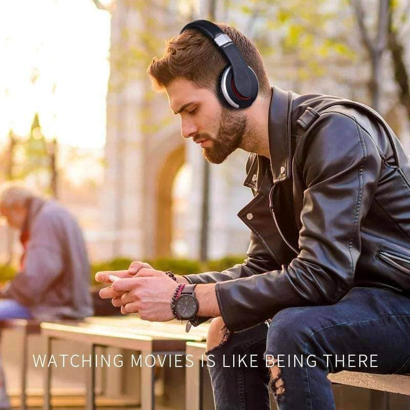 MH7 Wireless Headphones Bluetooth Headset Foldable Stereo Gaming Earphones With Microphone... Mybigfatstore