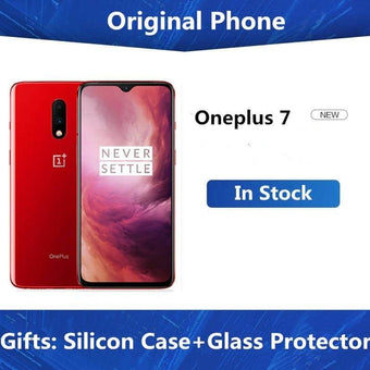 New Original Oneplus 7 Mobile Phone Snapdragon 855 Octa core 8GB 12GB RAM 256GB ROM UFS 3.0 6.4...