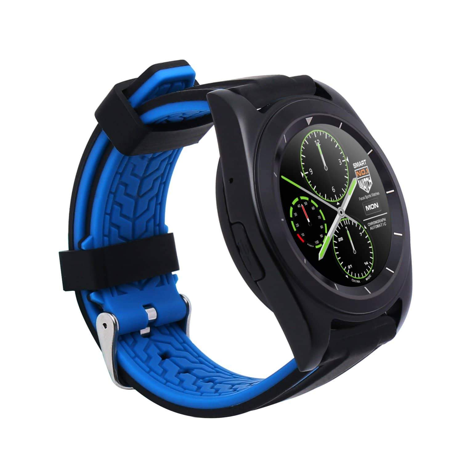 NO.1 G6 MT2502 240*240 380mAh bluetooth 4.0 Heart Rate Smart Watch Mybigfatstore