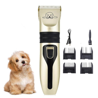 Rechargeable Pet Dog Hair Trimmer Animal Grooming Clippers Cat Cutter Machine Shaver Electric S...