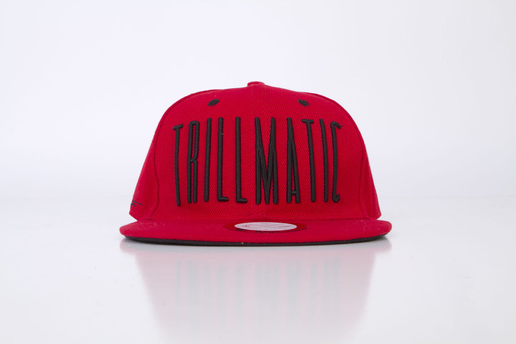 "Trillmatic ""3D Letters"" Leather Strapback Hats"