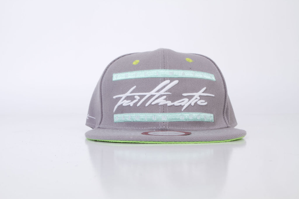 """Script"" Glow-in-the-Dark Snapback Hat"