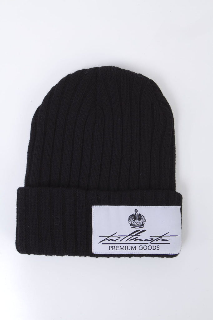 Beanie with Woven Label