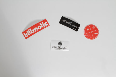 Trillmatic Vinyl Sticker Pack