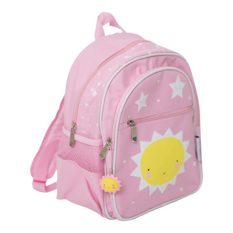 Sac à dos enfant rose Little Miss Sunshine A Little Lovely Company