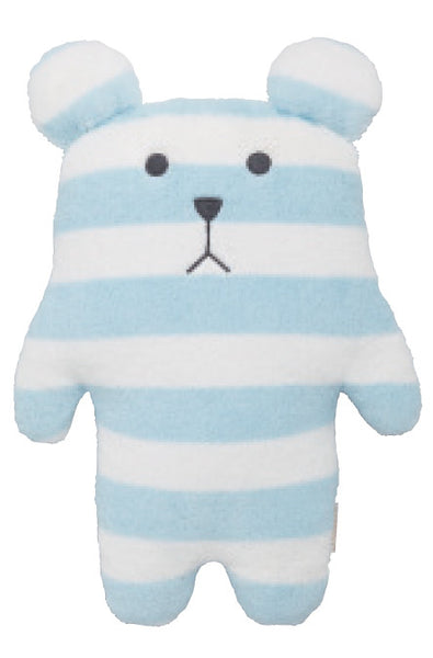 Doudou Ours Rayures Bleues