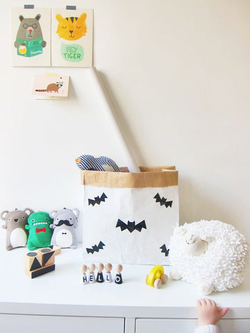 Paper Bag Small Mini Bat