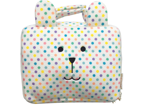 Trousse de toilette Craftholic Ourson Pois Multicolores