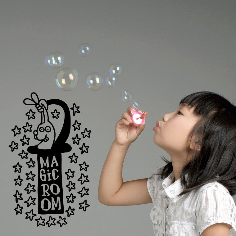 Sticker Magic Room