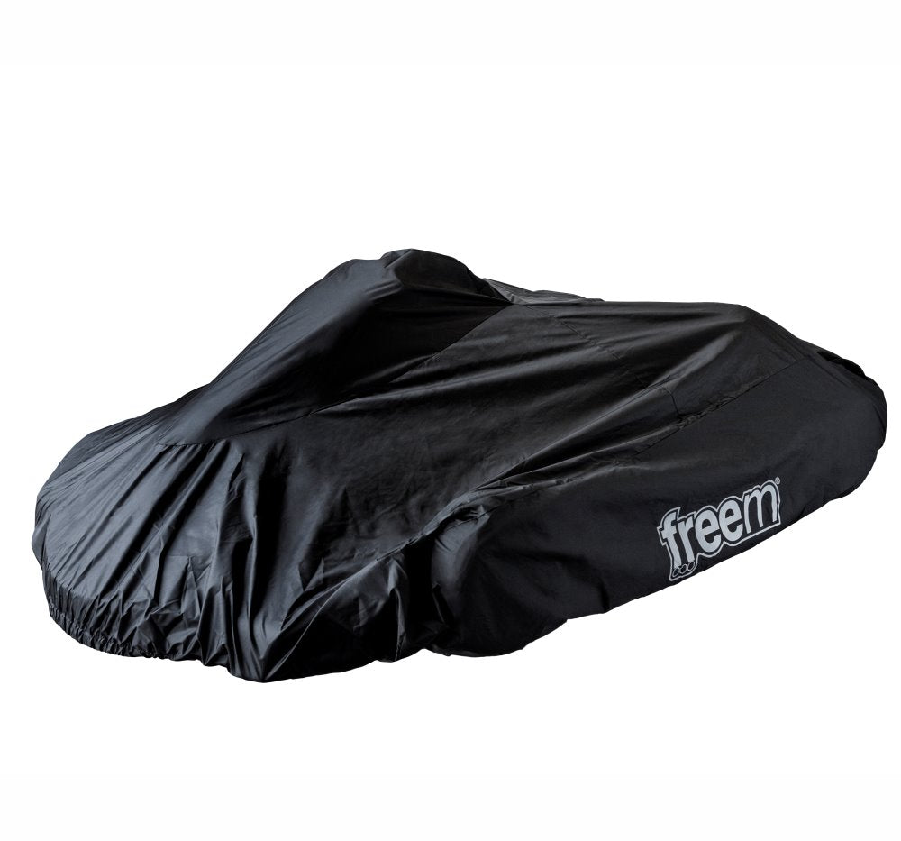 Kart Cover Accessories Freem Black / White Universal fit