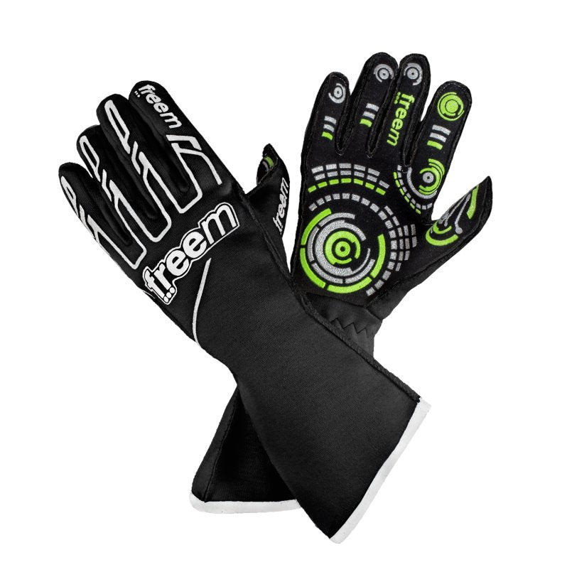 Senso Gloves Motorsport gloves Freem Black 7