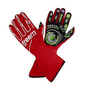 Senso Gloves Motorsport gloves Freem Red 7