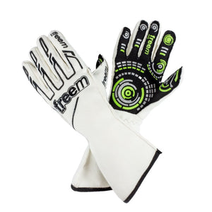 Senso Gloves Motorsport gloves Freem White 7