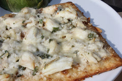 Crab and Artichoke Flatbread