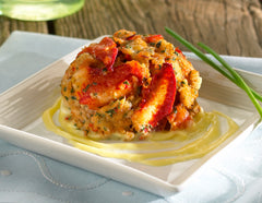 Crab and Lobster Cake Combo